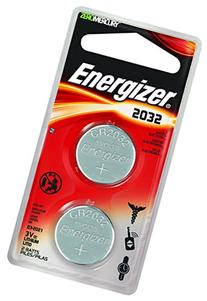Energizer Lithium Coin Watch/Electronic Battery 2032, 2-