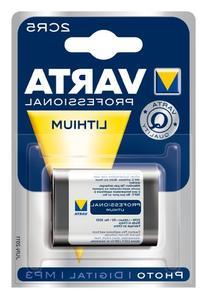 Varta Professional Litium 2CR5 6V Battery 6203