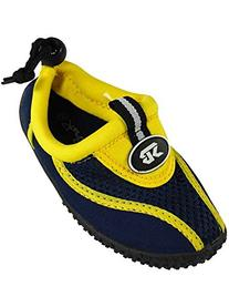 Starbay - Little Boys Athletic Water Shoe, Yellow, Navy