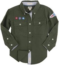 Tommy Hilfiger Little Boys' Button-Down Shirt