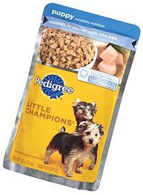 PEDIGREE Little Champions Puppy Complete With Chicken Wet