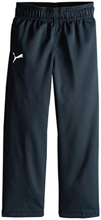 PUMA Little Boys' Pure Core Pant, Charcoal, 7