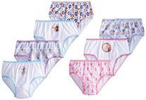 Handcraft Little Girls'  Disney Frozen 7 Pack Panty,