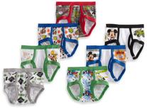 Handcraft Little Boys' Mickey 7 Pack Brief, Multi, 2T/3T