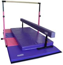 Little Gym Deluxe - Adjustable Bar - Adjustable Balance Beam