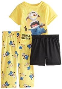 Despicable Me Little Boys' Minions Know Karate 3 Piece