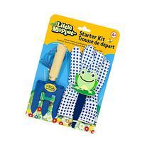 Family Games Little Moppet Kids Gardening Starter Kit , Blue