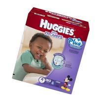 Huggies Little Movers Plus Diapers Size 4, 180 Ct