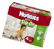 Huggies Little Movers Slip-on Diapers Big Pack 56 CT