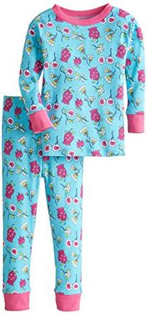 New Jammies Big Girls' Organic Cotton Snuggly Pajamas,