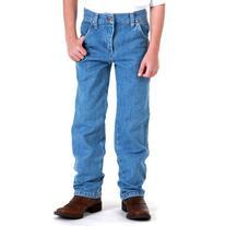 Wrangler Little Boys' Original ProRodeo Jeans, Stonebleach
