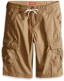 Unionbay Little Boys' Shaw Drawcord Cargo Short, Lion, 7