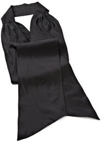 Us Angels Little Girls' Silky Taffeta Sash, Black, 2T-4T