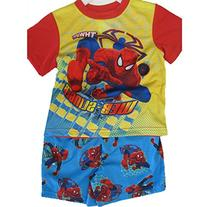 Spiderman Little Boys Sky Blue Superhero Cartoon Inspired 2