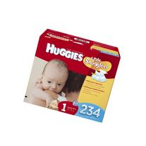 Huggies Little Snugglers Diapers Economy Plus, Size 1, 234