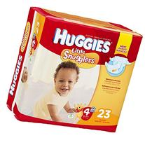 Huggies Little Snugglers Diapers - Size 4 - 144 ct