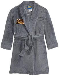Star Wars Little Boys' Bathrobe, Grey, Small