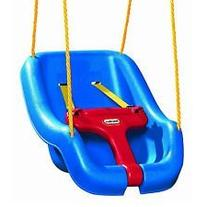 New Little Tikes 2-in-1 Snug 'n Secure Swing,Swing Seat Blue