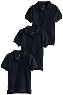 Dockers Little Boys' Uniform 3 Pack Short Sleeve Polo Bundle