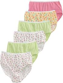 Fruit of the Loom Little Girls'   Wardrobe Brief ,Assorted,