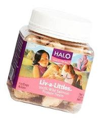 Halo Liv-A-Littles Holistic Freeze Dried Dog Treats and Cat
