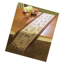 Live Laugh Love 72 Primitive Country Tapestry Table Runner