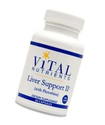 Vital Nutrients - Liver Support II  - Herbal Combination to