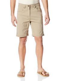 prAna Living Men's Bronson 9-Inch Inseam Shorts, Khaki, 34