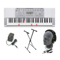 Casio LK280 Lighted Key Premium Keyboard Pack with
