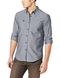 RVCA That'll Do Oxford Shirt - Long-Sleeve - Men's Pavement