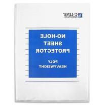 Top-Load No-Hole Polypropylene Sheet Protector, Heavyweight
