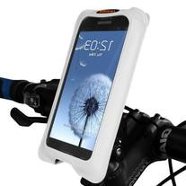 Ibera Spring Loaded Stem Mount Bicycle Smartphone Cam Case,