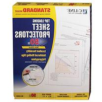 C-Line Top Loading Standard Weight Poly Sheet Protectors,