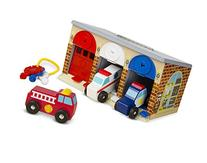 Melissa & Doug Lock and Roll Rescue Garage - 3 Wooden