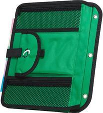 Case-it Locker Accessory 5-Tab File, Green, ACC-21-GRE