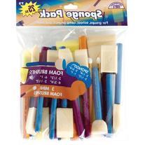 Loew Cornell 72 25-Piece Brush Set, Sponge