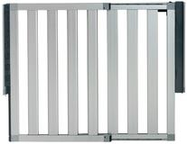 Munchkin Loft Aluminum Hardware Mount Baby Gate for Stairs,