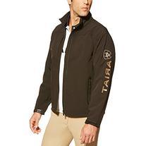 Ariat Men's Logo Softshell Jacket, Black, Medium
