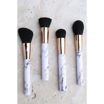 Skinnydip London Shut the Contour Marble Makeup Brush Set