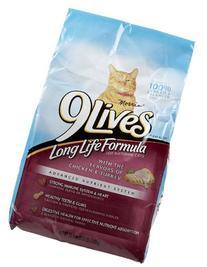 9Lives Long Life Formula - Chicken & Turkey - 3.15 lb