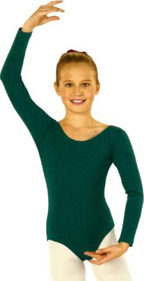 Eurotard Child Long Sleeve Leotard 10408 HUNTER-M