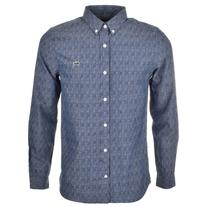 Lacoste Live Long Sleeve Shirt Blue