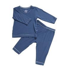 KicKee Pants Long Sleeved Pajama Set, Twilight, 18 24 Months