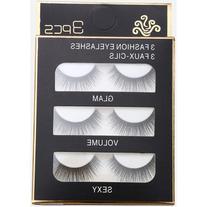 Natural Long Straight False Eyelashes