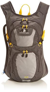 High Sierra Longshot 70L Top LoadBackpack Pack, High-Performance Pack for Backpacking, Hiking, Camping, with Rain Fly, Mercury/Ash/Yell-O