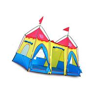 LOOGU Funny Cute Kids Castle Tent Fantasy Palace Play Tent