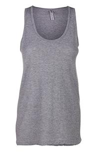 Sofra Women's Loose Fit Tank Top Relaxed Flowy-Medium-