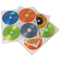 HOLDER,CD,3 RING,25/PK