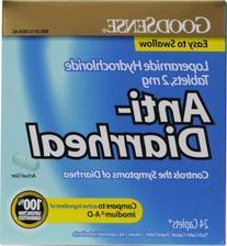 Good Sense Loperamide Hydrochloride 2Mg Anti-Diarrheal Caps