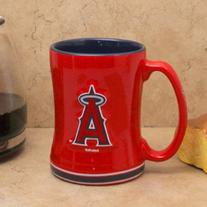 Los Angeles Angels of Anaheim Sculpted Coffee Mug